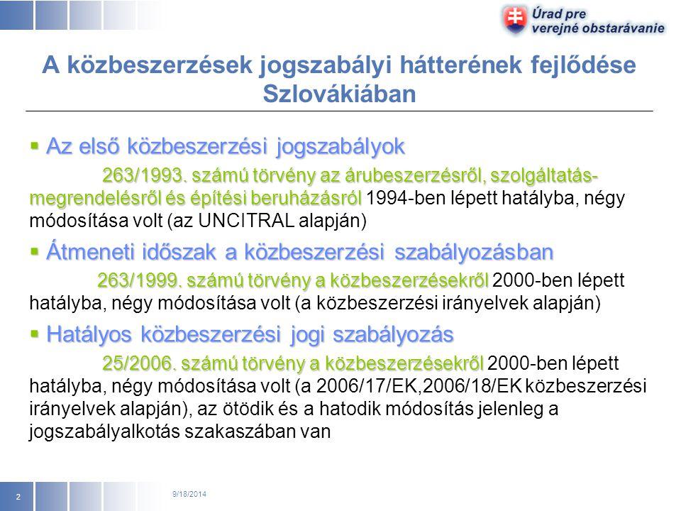 25/2006. számú törvény a közbeszerzésekről és egyes jogszabályok módosításai