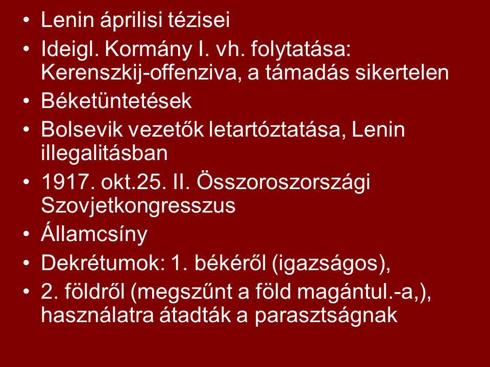 Lenin áprilisi tézisei