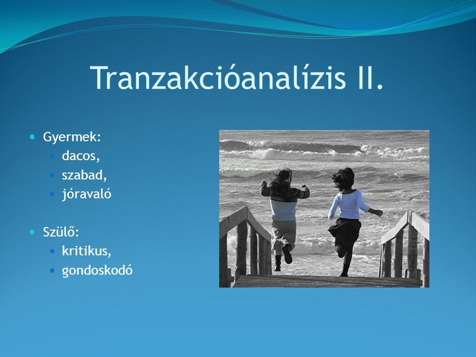 Tranzakcióanalízis II.
