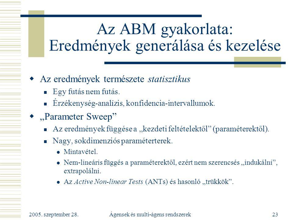Az ABM gyakorlata: Eredmények generálása és kezelése
