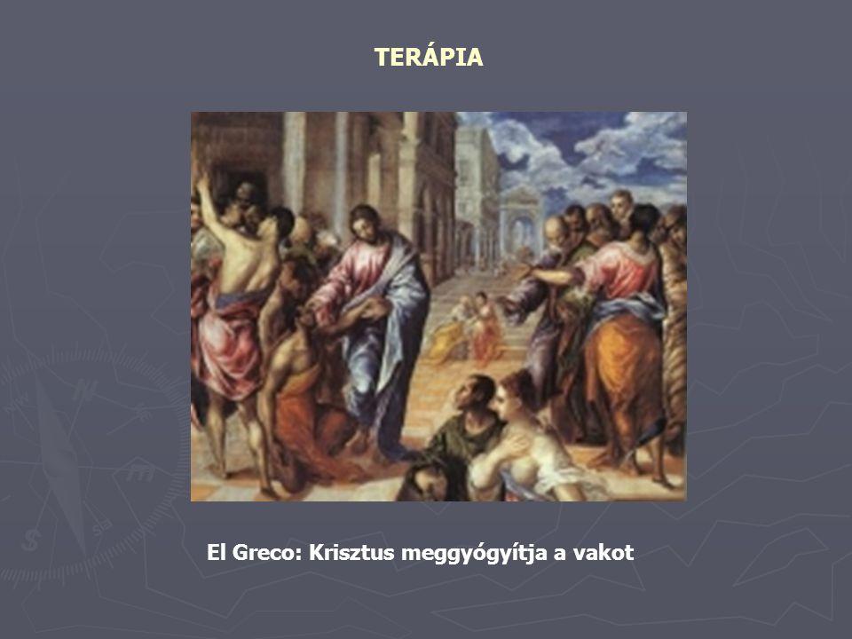 TERÁPIA El Greco: Krisztus meggyógyítja a vakot