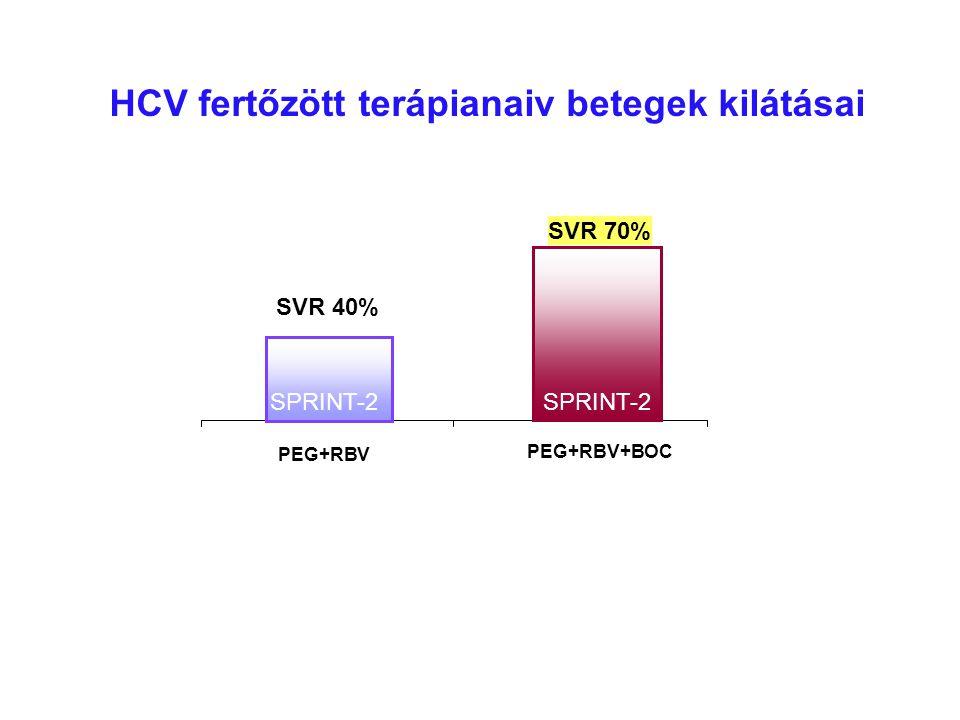HCV fertőzött terápianaiv betegek kilátásai