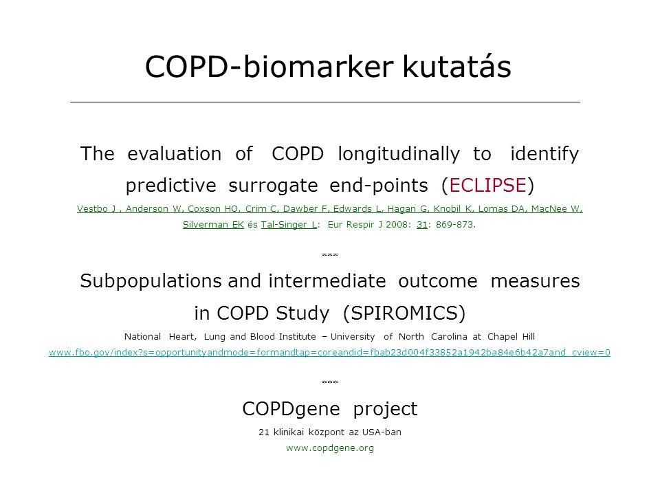 COPD-biomarker kutatás