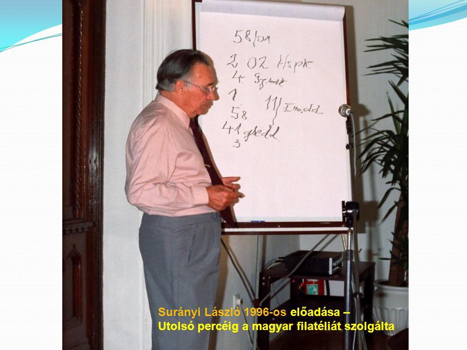 Surányi László 1996-os előadása –