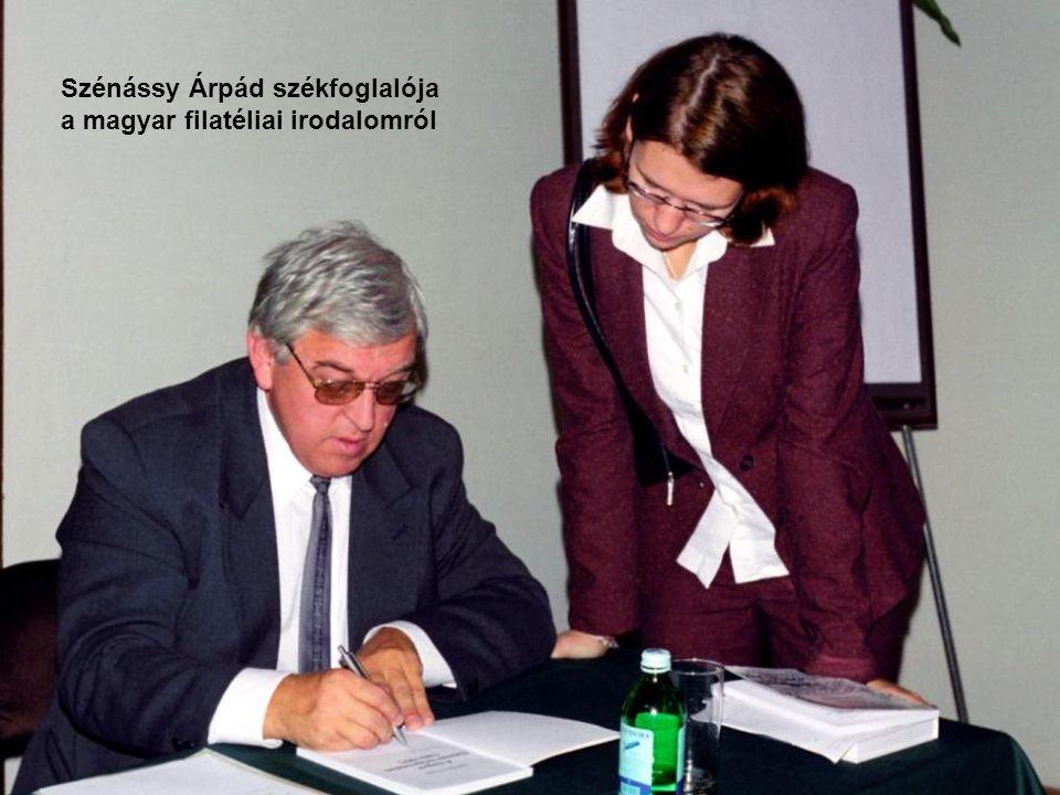 Szénássy Árpád székfoglalója
