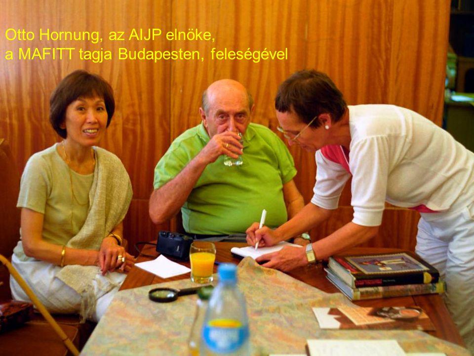 Otto Hornung, az AIJP elnöke,