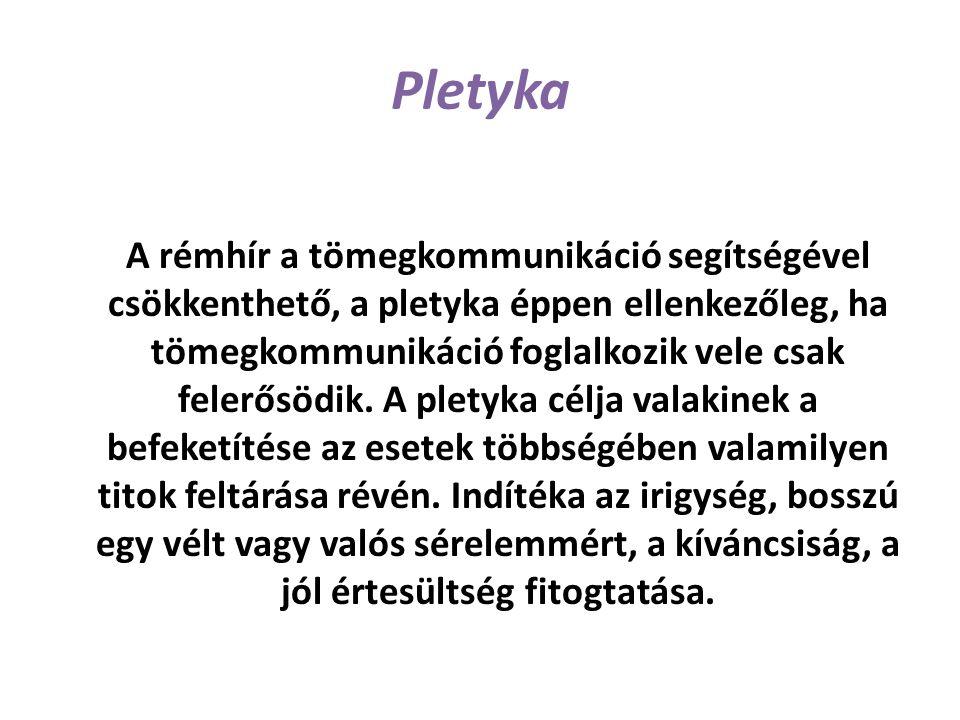 Pletyka