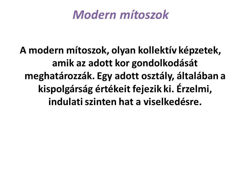 Modern mítoszok