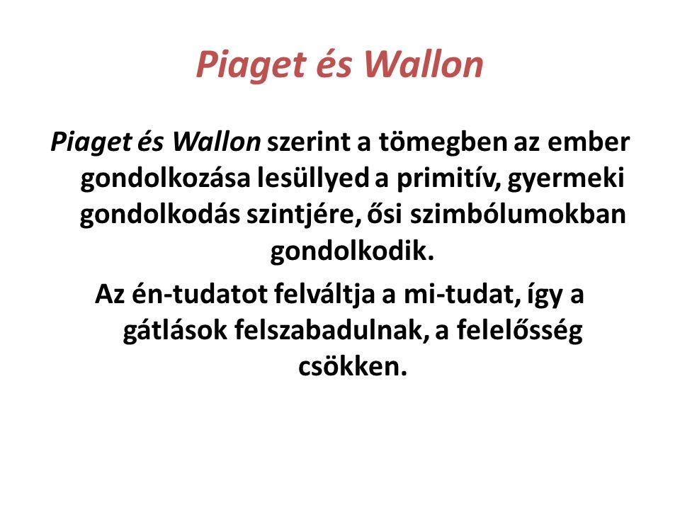 Piaget és Wallon