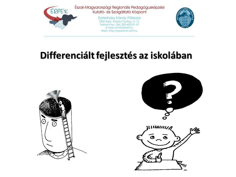 Differenciált fejlesztés az iskolában