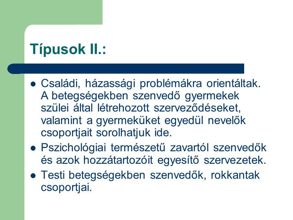 Típusok II.: