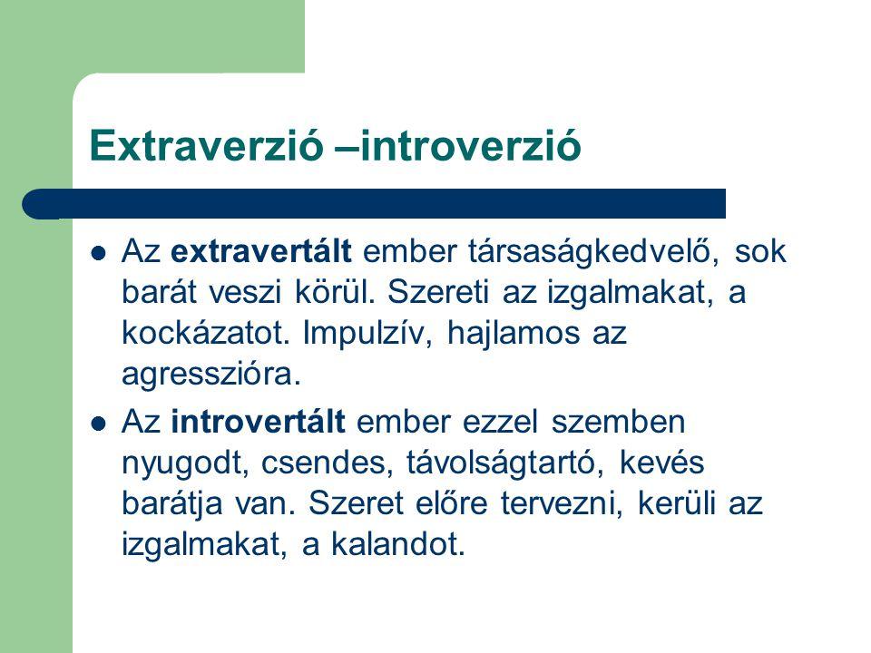 Extraverzió –introverzió