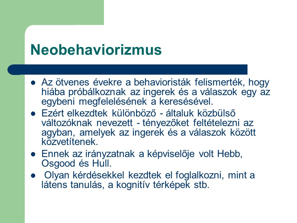 Neobehaviorizmus