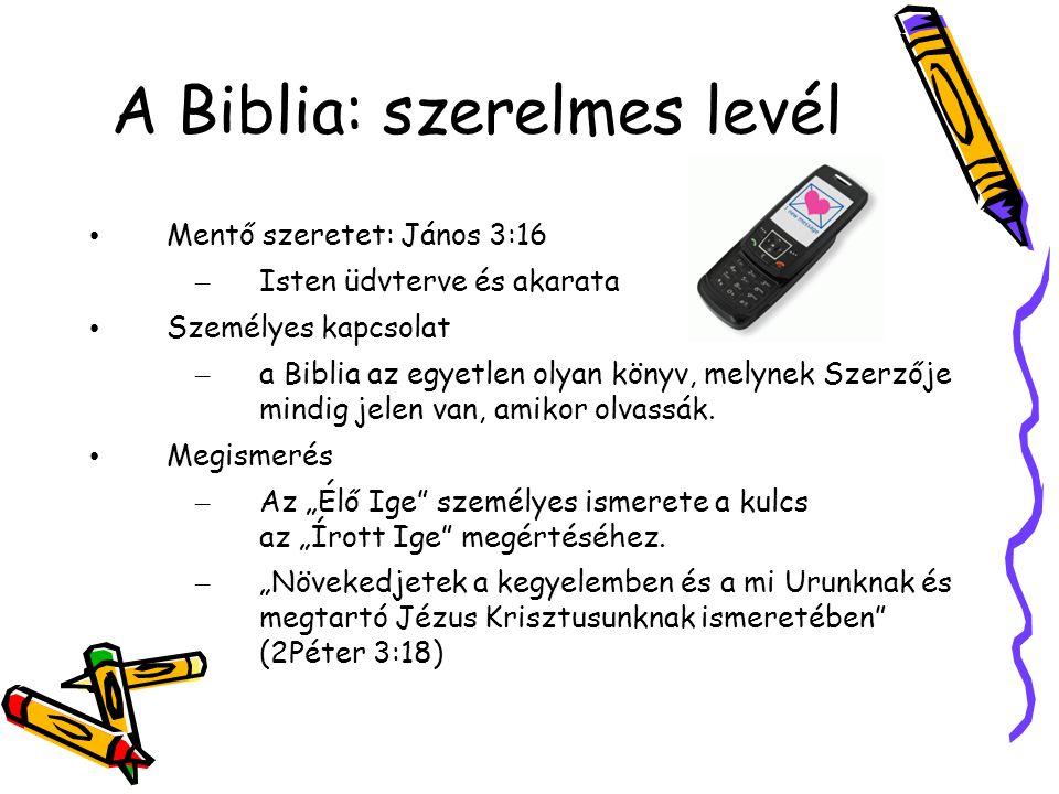 A Biblia: szerelmes levél