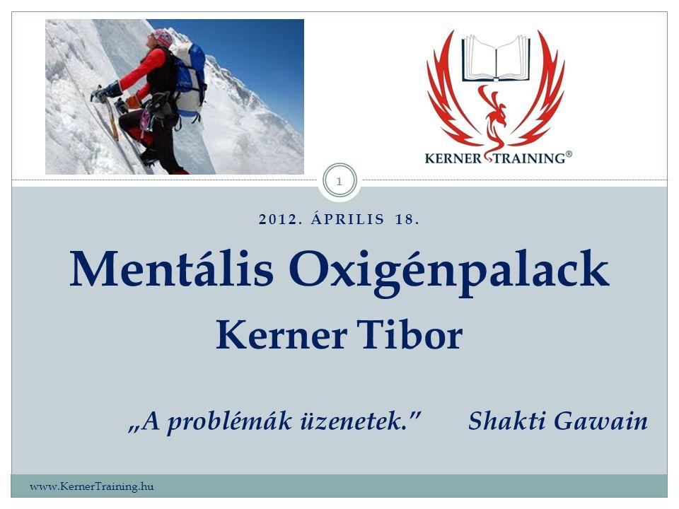 Mentális Oxigénpalack Kerner Tibor