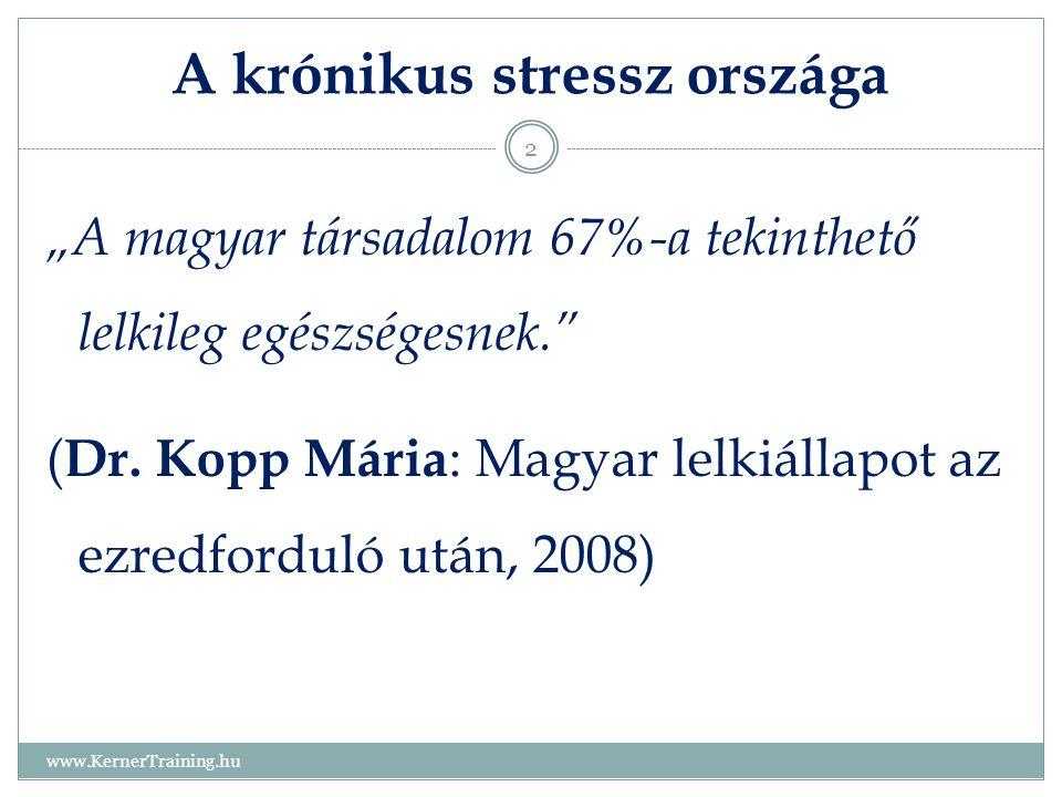 A krónikus stressz országa