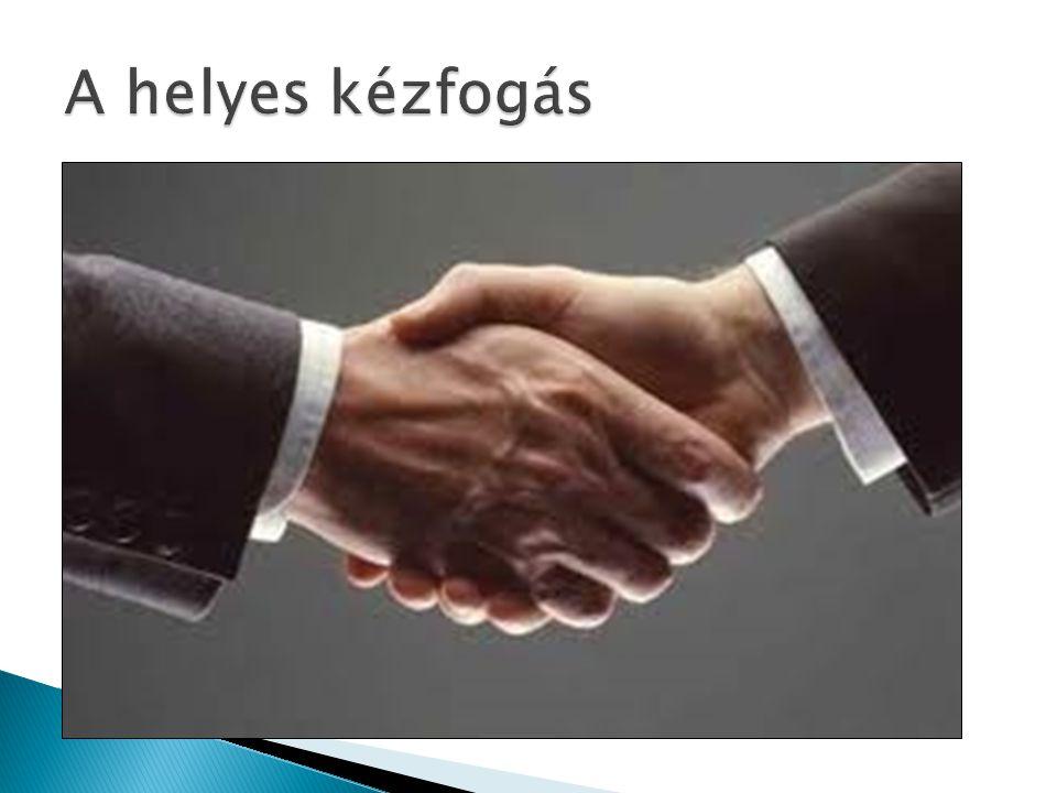 A helyes kézfogás