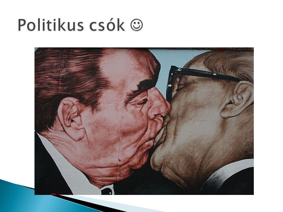 Politikus csók 
