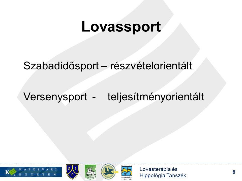 Lovassport Szabadidősport – részvételorientált