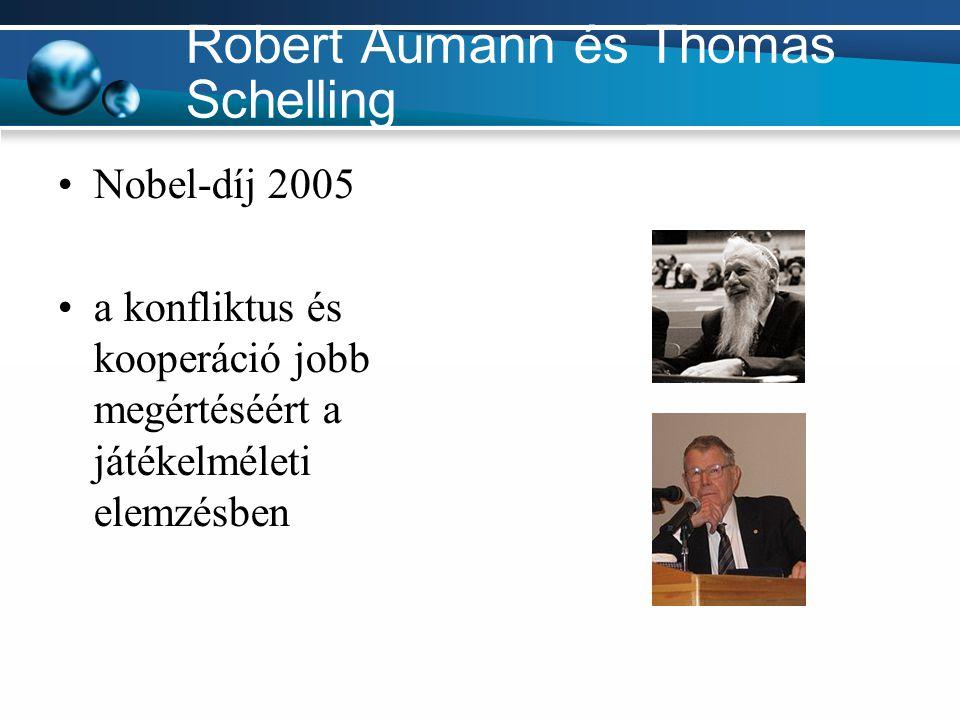 Robert Aumann és Thomas Schelling
