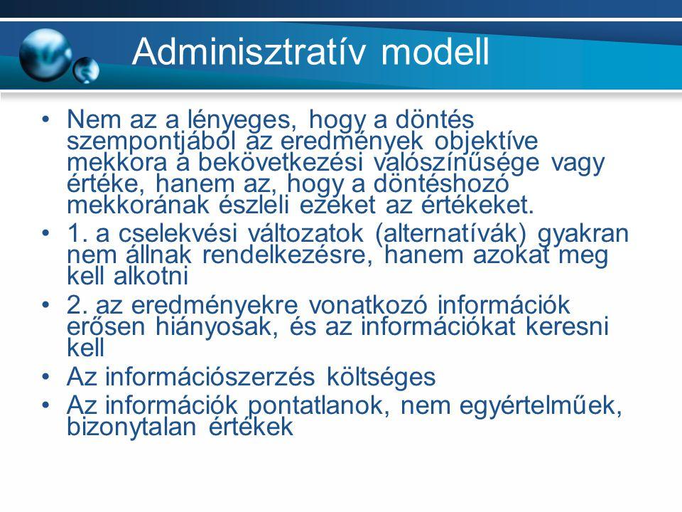Adminisztratív modell