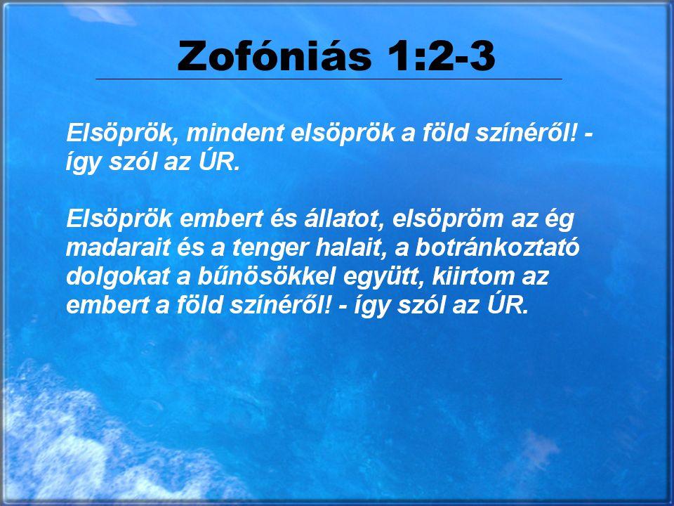 Zofóniás 1:2-3