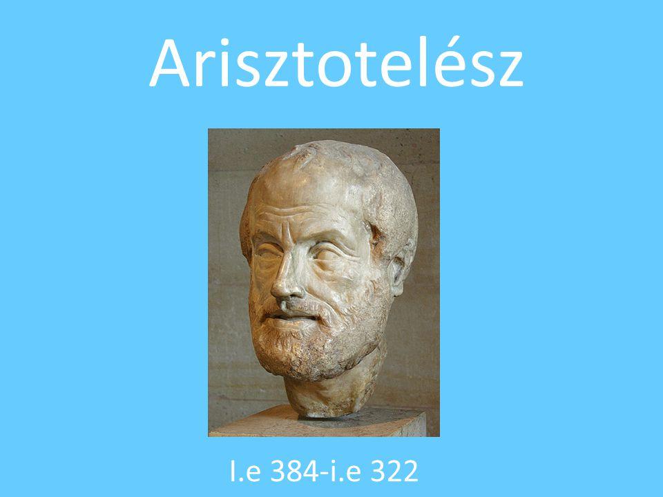 Arisztotelész I.e 384-i.e 322