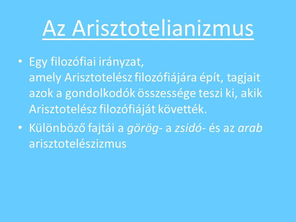 Az Arisztotelianizmus