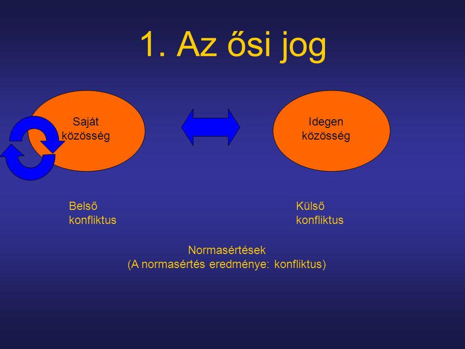 Normasértések (A normasértés eredménye: konfliktus)