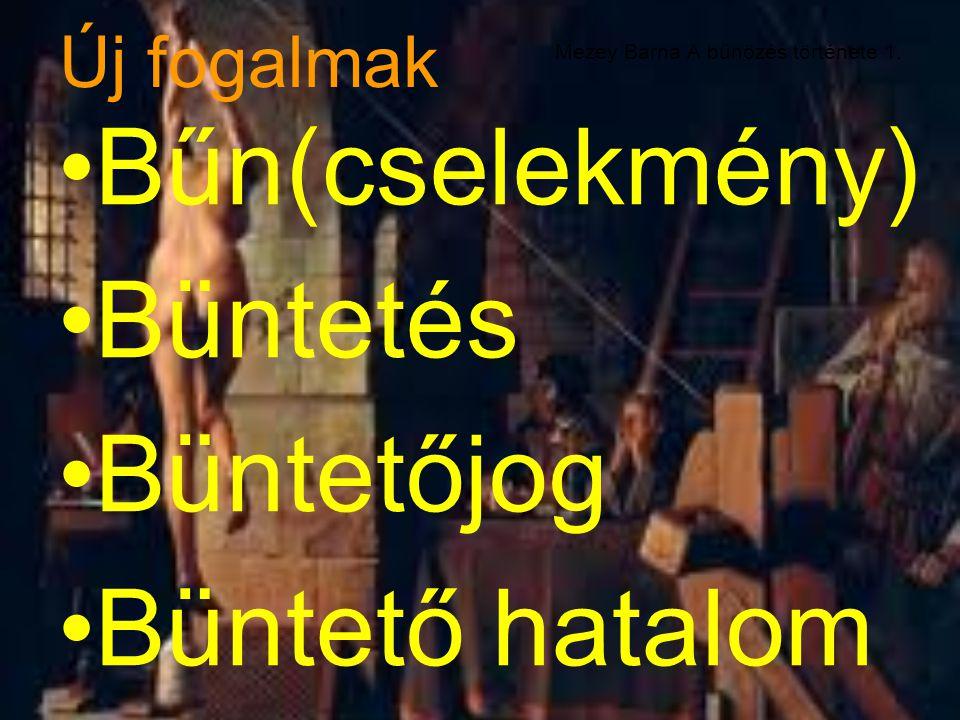 Mezey Barna A bűnözés története 1.
