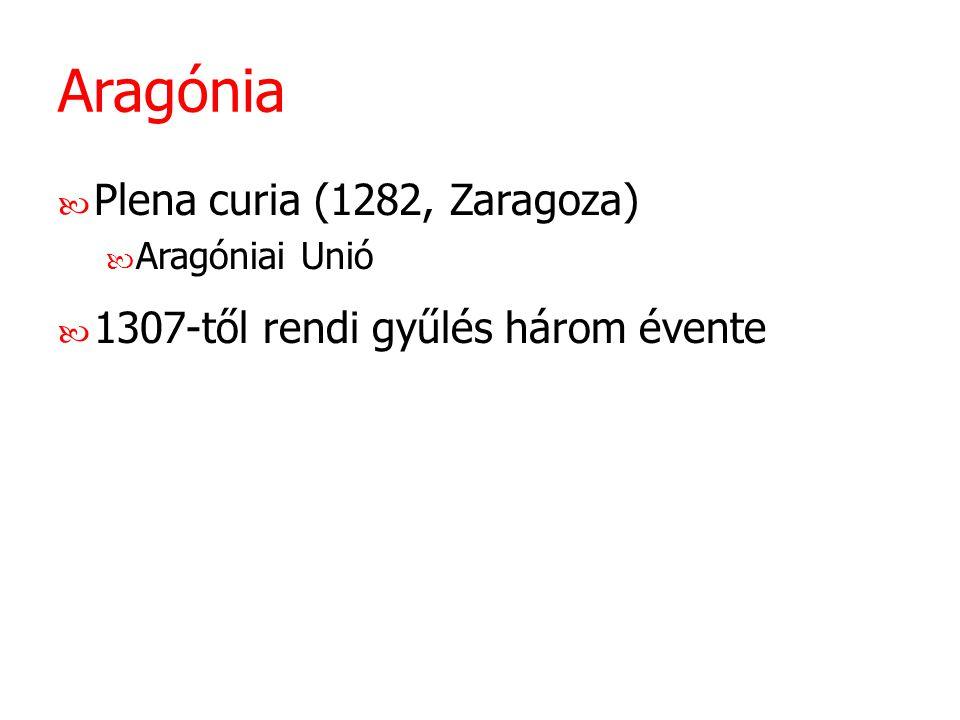 Aragónia Plena curia (1282, Zaragoza)