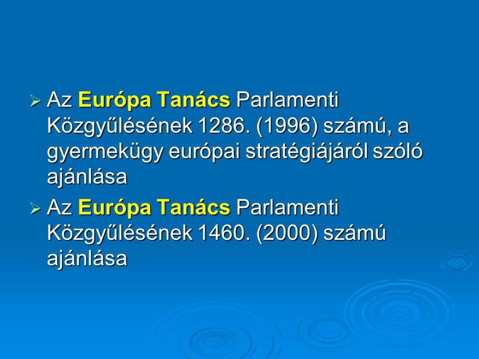 Az Európa Tanács Parlamenti Közgyűlésének 1286