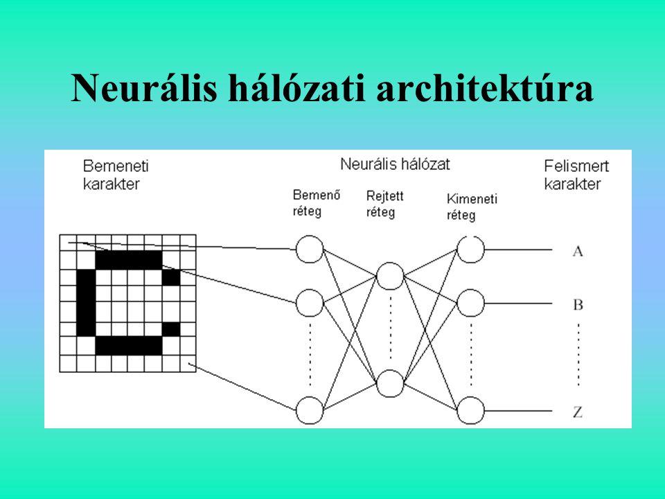 Neurális hálózati architektúra