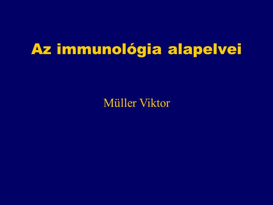 Az immunológia alapelvei