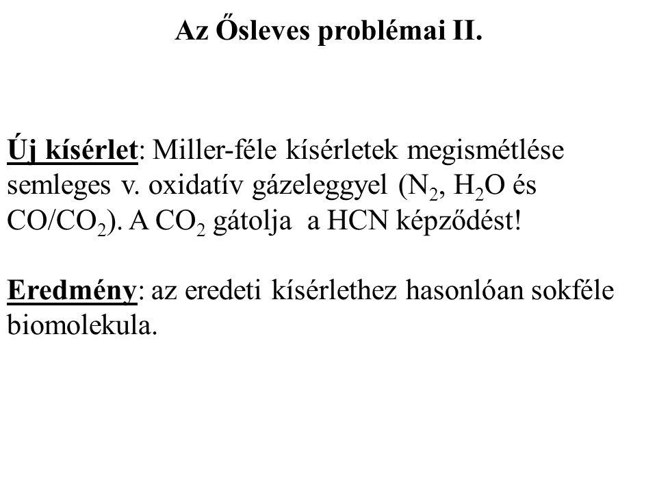 Az Ősleves problémai II.