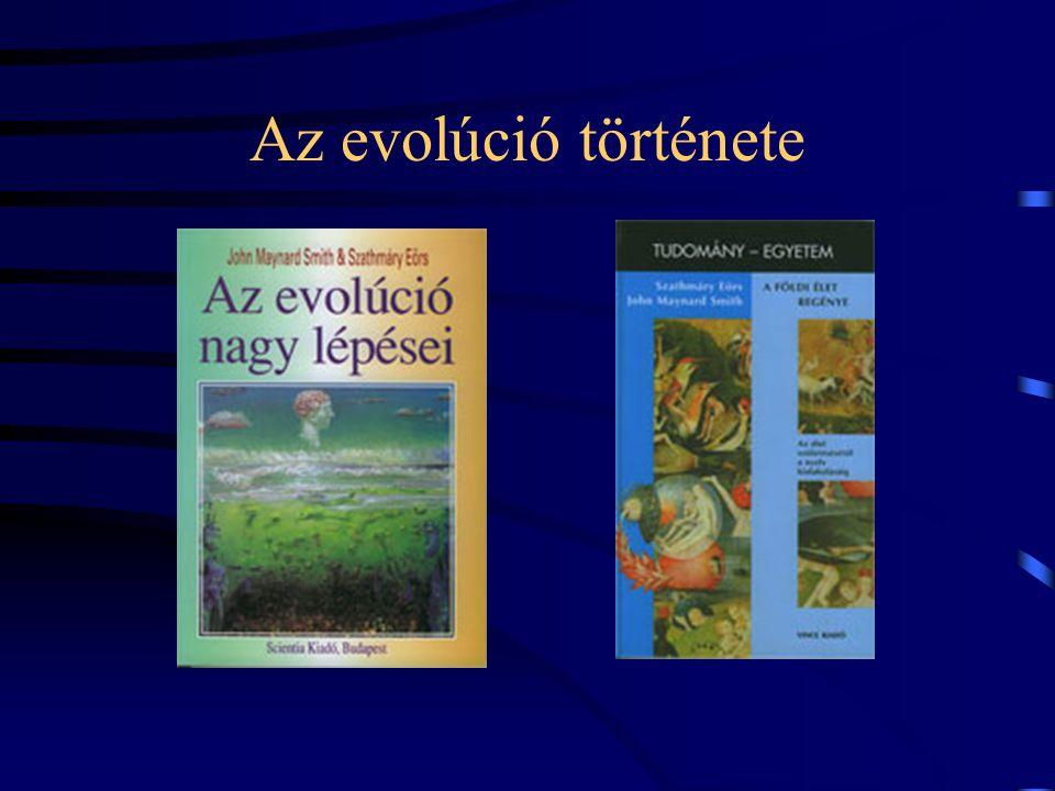 Az evolúció története