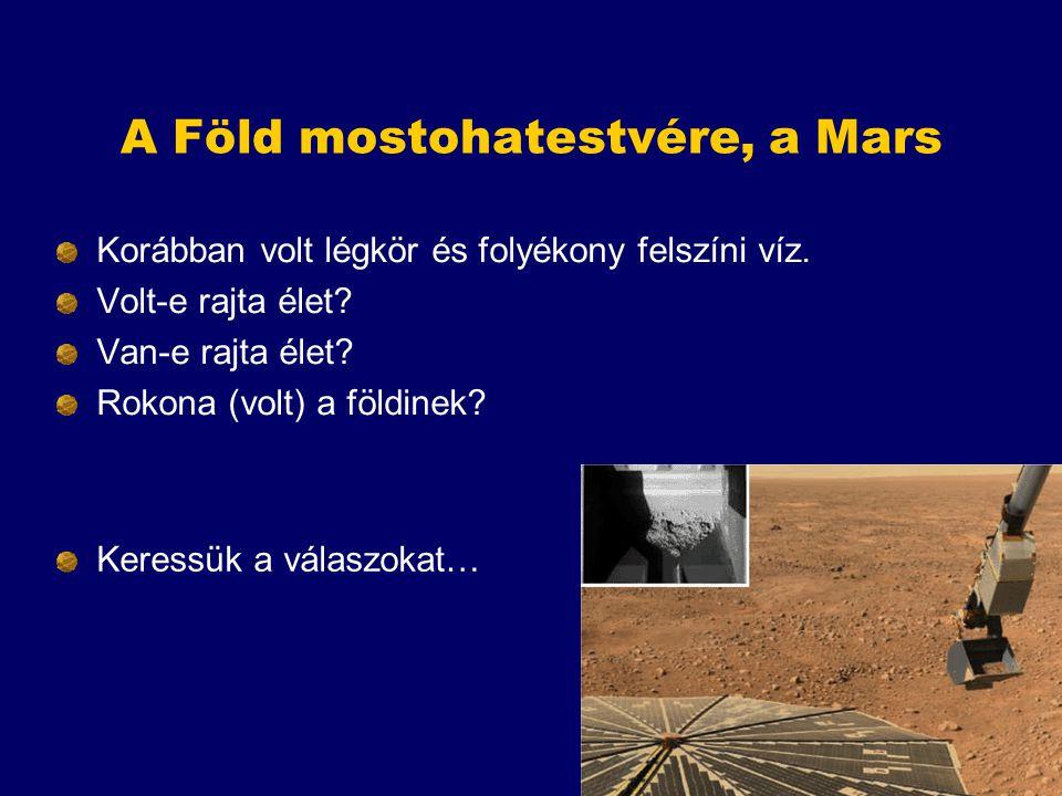 A Föld mostohatestvére, a Mars