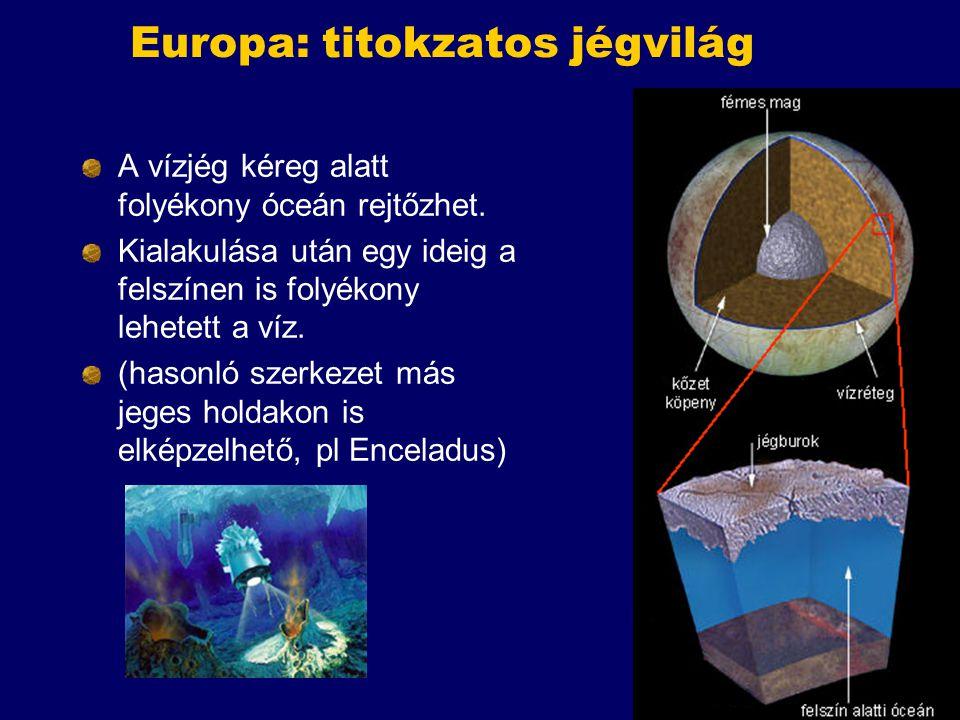 Europa: titokzatos jégvilág