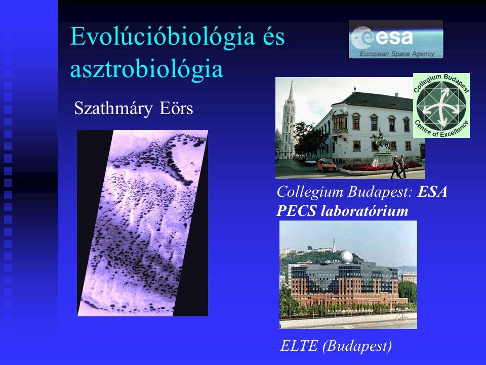 Evolúcióbiológia és asztrobiológia