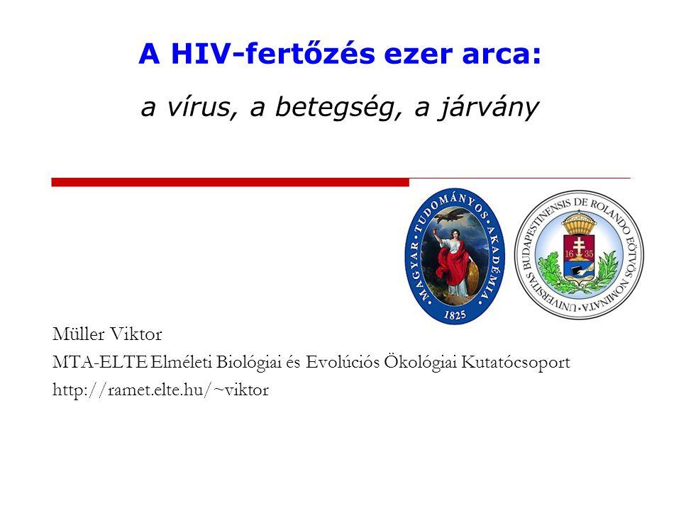 A HIV-fertőzés ezer arca: a vírus, a betegség, a járvány