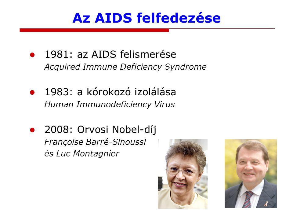 Az AIDS felfedezése 1981: az AIDS felismerése