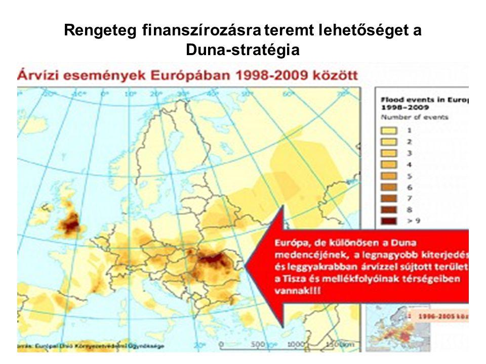 Rengeteg finanszírozásra teremt lehetőséget a Duna-stratégia