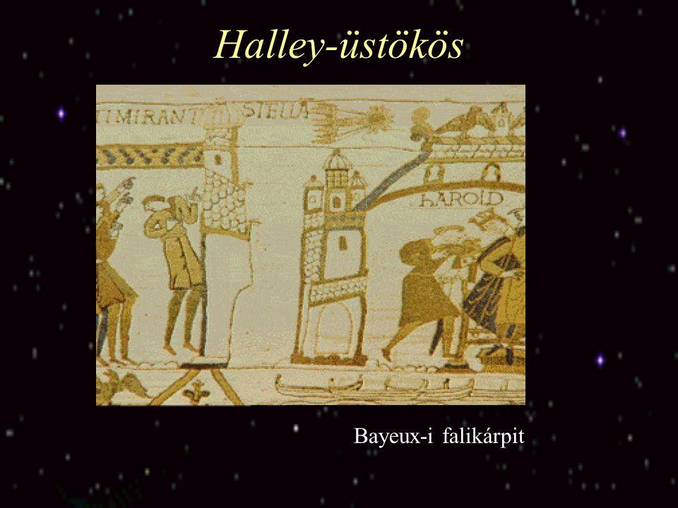 Halley-üstökös Bayeux-i falikárpit