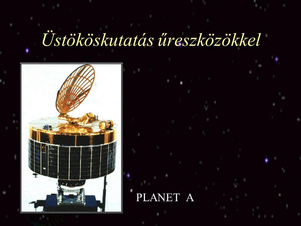 Üstököskutatás űreszközökkel