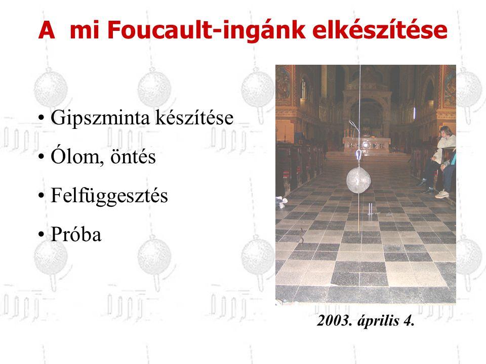 A mi Foucault-ingánk elkészítése