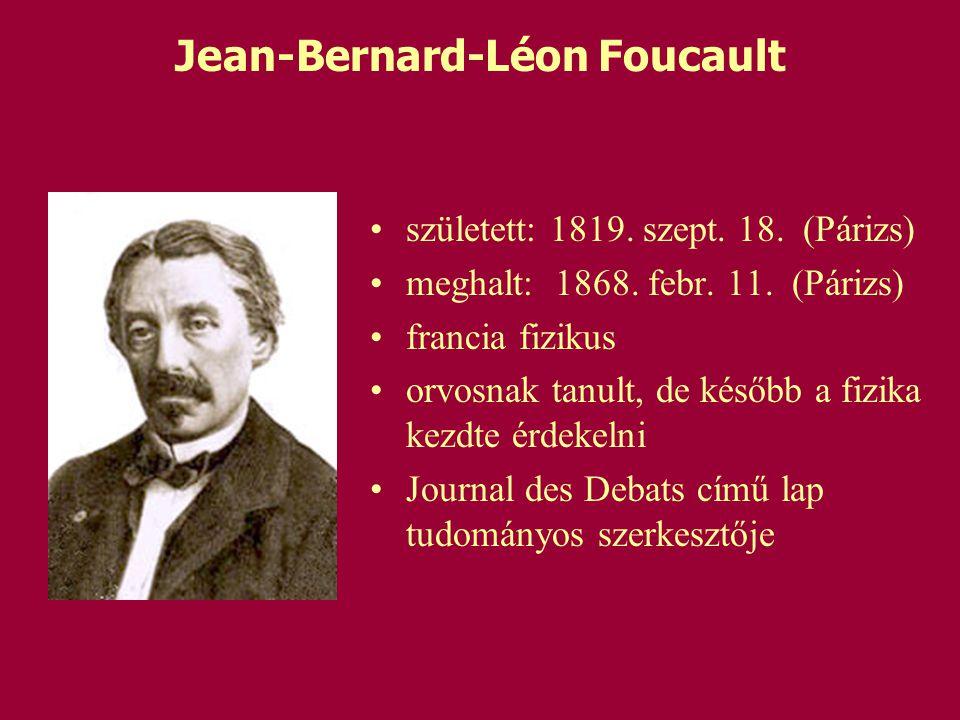 Jean-Bernard-Léon Foucault
