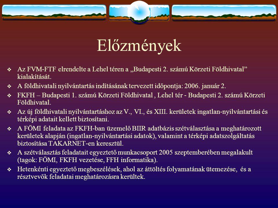"""Előzmények Az FVM-FTF elrendelte a Lehel téren a """"Budapesti 2. számú Körzeti Földhivatal kialakítását."""