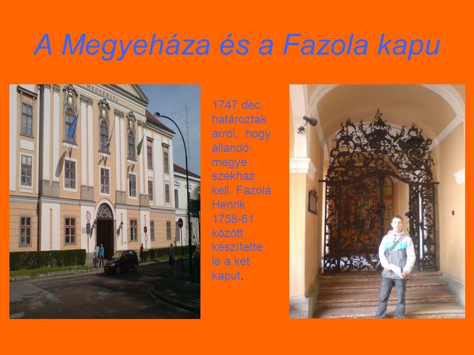 A Megyeháza és a Fazola kapu