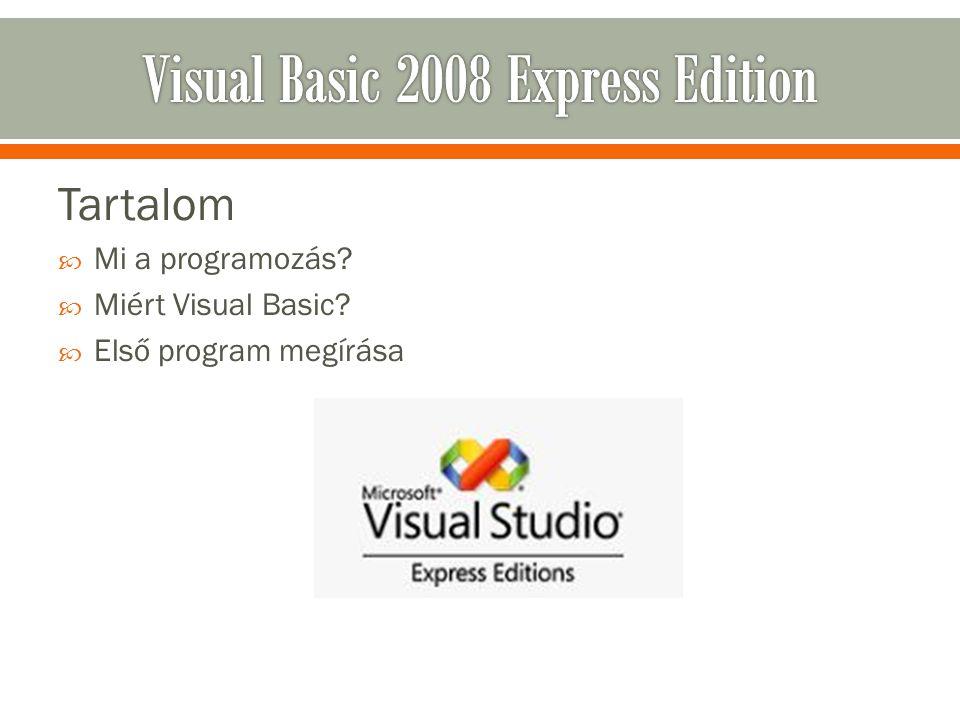 Visual Basic 2008 Express Edition