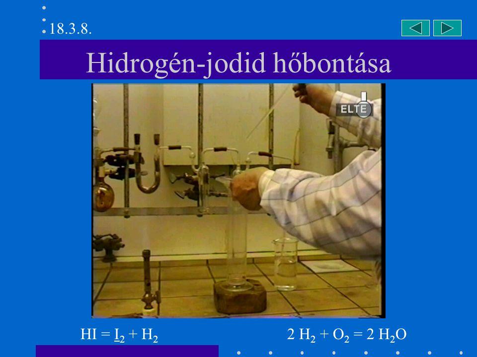 Hidrogén-jodid hőbontása